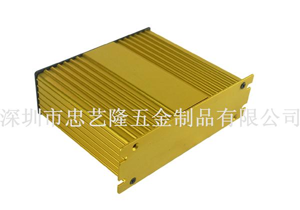 响铝型材外壳加工成本的设计因素